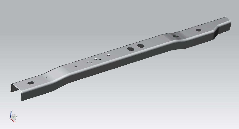 Ford F150 Frame Rail - Big Rapids Products